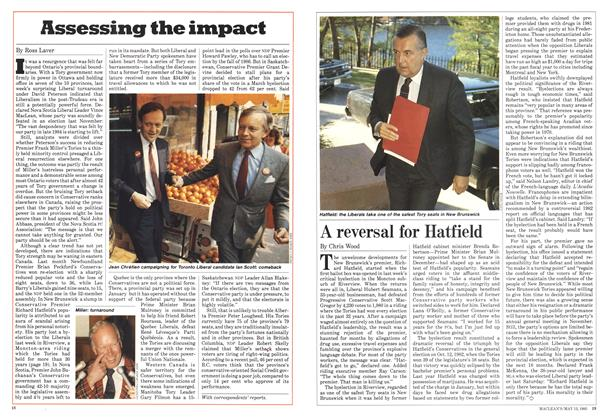 Article Preview: Assessing the impact, May 1985 | Maclean's
