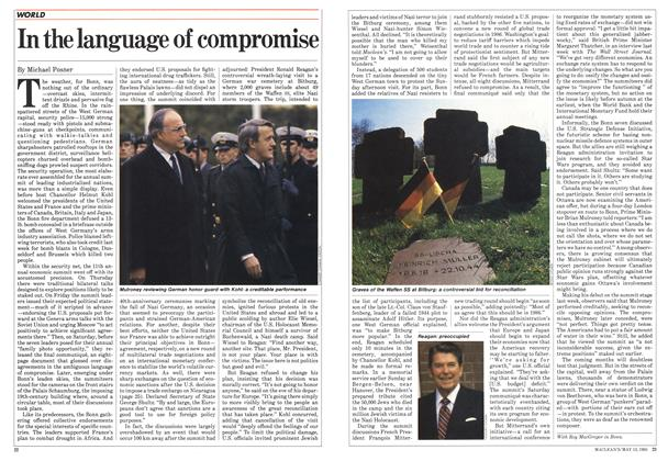 Article Preview: In the language of compromise, May 1985 | Maclean's