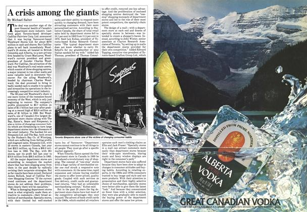 Article Preview: A crisis among the giants, May 1985 | Maclean's