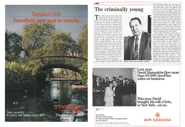 Article Preview: The criminally young, May 1985   Maclean's