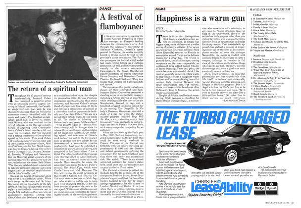 Article Preview: The return of a spiritual man, May 1985 | Maclean's