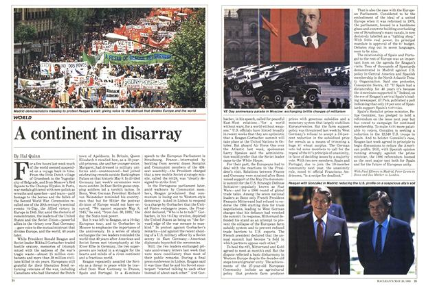 Article Preview: A continent in disarray, May 1985 | Maclean's