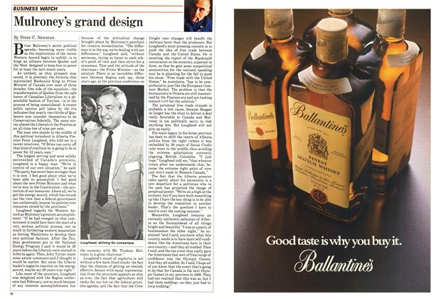 Article Preview: Mulroney's grand design, May 1985 | Maclean's