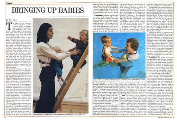 Article Preview: BRINGING UP BABIES, May 1985 | Maclean's