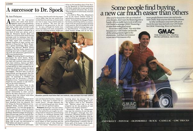 Article Preview: A successor to Dr. Spock, May 1985 | Maclean's