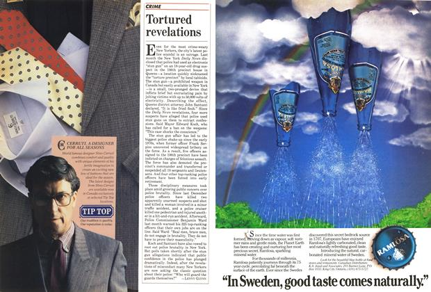 Article Preview: Tortured revelations, May 1985 | Maclean's