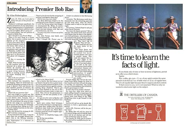 Article Preview: Introducing Premier Bob Rae, May 1985 | Maclean's