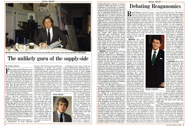 Article Preview: The unlikely guru of the supply-side, May 1985 | Maclean's
