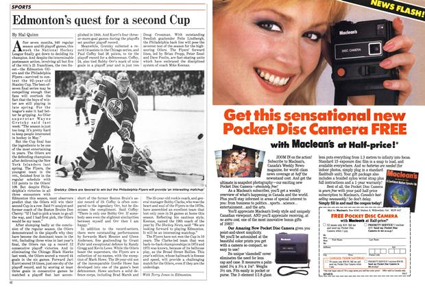 Article Preview: Edmonton's quest for a second Cup, May 1985 | Maclean's