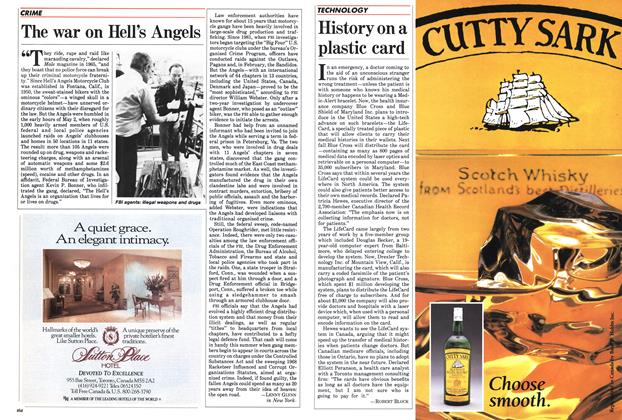 Article Preview: The war on Hell's Angels, June 1985 | Maclean's
