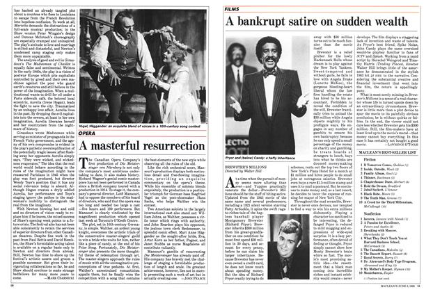 Article Preview: A masterful resurrection, June 1985 | Maclean's