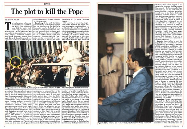 Article Preview: The plot to kill the Pope, June 1985 | Maclean's