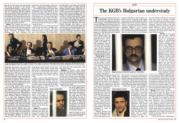 Article Preview: The KGB's Bulgarian understudy, June 1985 | Maclean's