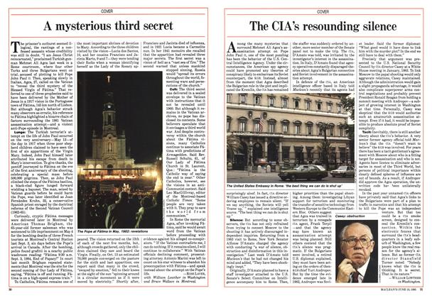 Article Preview: A mysterious third secret, June 1985 | Maclean's