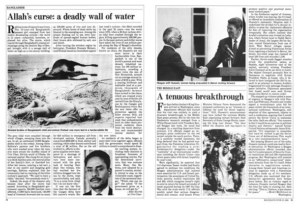 Article Preview: A tenuous breakthrough, June 1985 | Maclean's