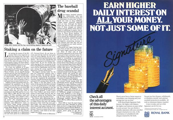 Article Preview: The baseball drug scandal, June 1985 | Maclean's