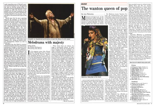 Article Preview: The wanton queen of pop, June 1985 | Maclean's