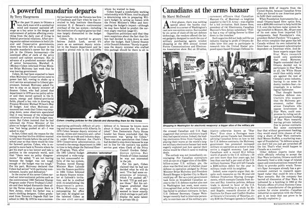 Article Preview: Canadians at the arms bazaar, June 1985 | Maclean's