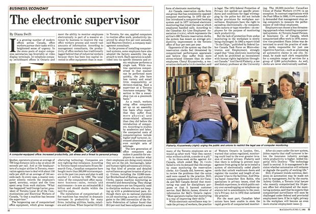 Article Preview: The electronic supervisor, June 1985 | Maclean's