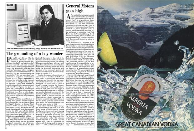 Article Preview: The grounding of a boy wonder, June 1985 | Maclean's