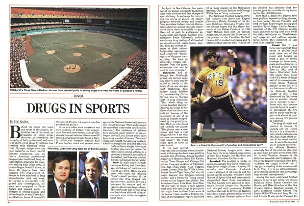 Article Preview: DRUGS IN SPORTS, June 1985 | Maclean's