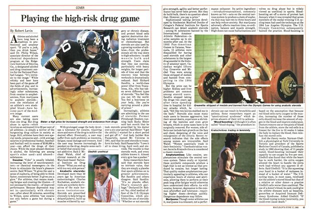Article Preview: Playing the high-risk drug game, June 1985 | Maclean's