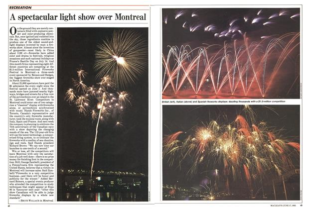 Article Preview: A spectacular light show over Montreal, June 1985 | Maclean's