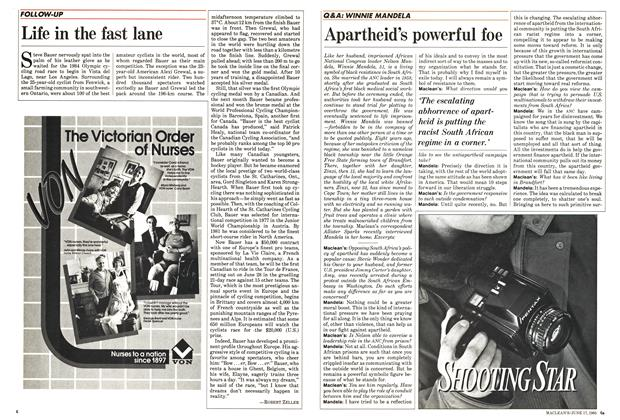 Article Preview: Apartheid's powerful foe, June 1985 | Maclean's