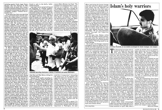 Article Preview: Islam's holy warriors, June 1985 | Maclean's