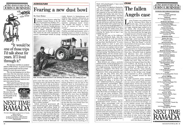 Article Preview: The fallen Angels case, June 1985 | Maclean's