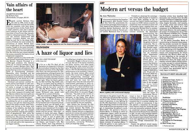 Article Preview: A haze of liquor and lies, June 1985 | Maclean's