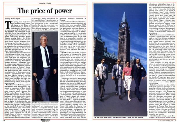 Article Preview: The price of power, June 1985 | Maclean's