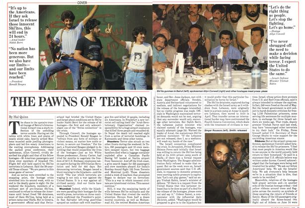 Article Preview: THE PAWNS OF TERROR, July 1985 | Maclean's