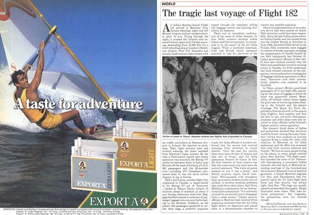 Article Preview: The tragic last voyage of Flight 182, July 1985 | Maclean's