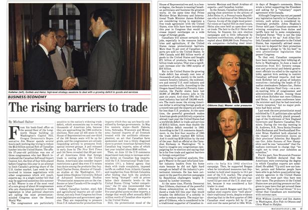 Article Preview: The rising barriers to trade, July 1985 | Maclean's