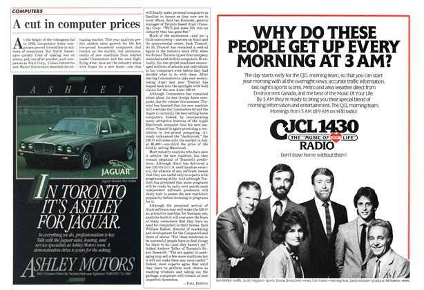 Article Preview: A cut in computer prices, July 1985 | Maclean's