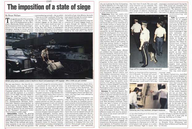 Article Preview: The imposition of a state of siege, July 1985 | Maclean's