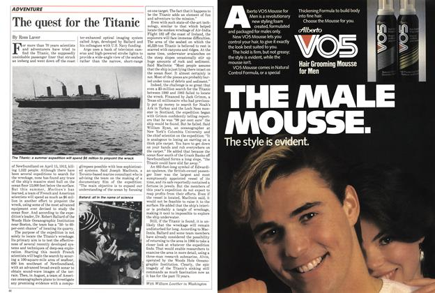 Article Preview: The quest for the Titanic, July 1985 | Maclean's