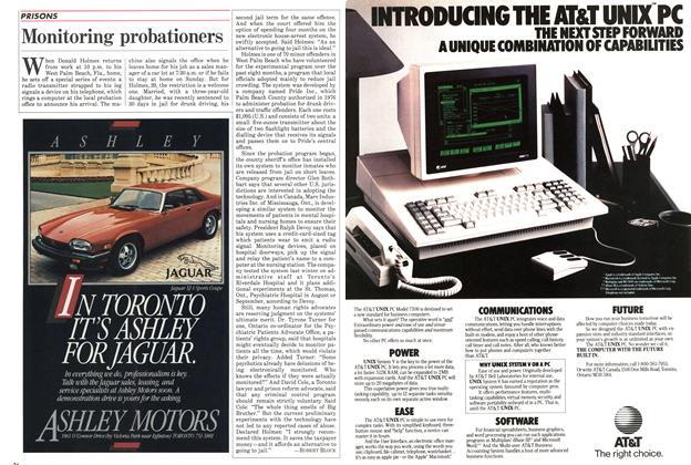 Article Preview: Monitoring probationers, July 1985 | Maclean's