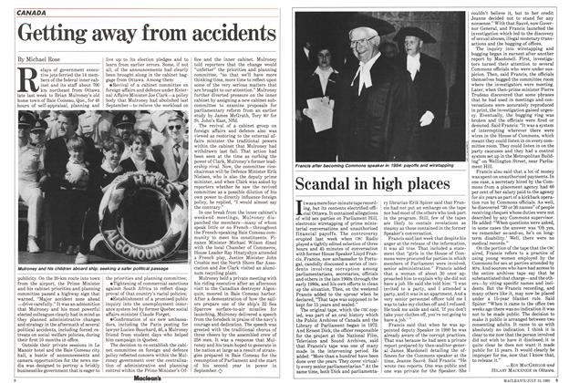 Article Preview: Scandal in high places, July 1985 | Maclean's