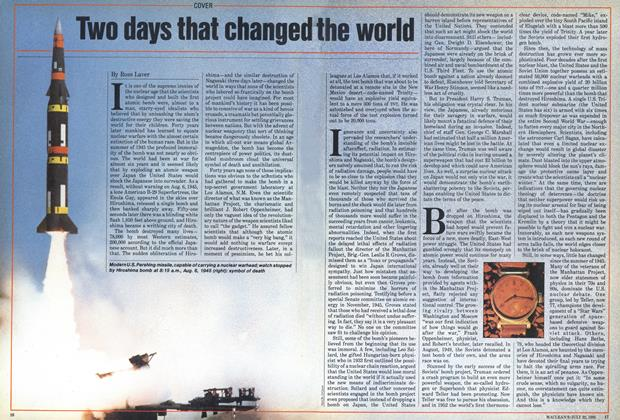 Article Preview: Two days that changed the world, July 1985   Maclean's