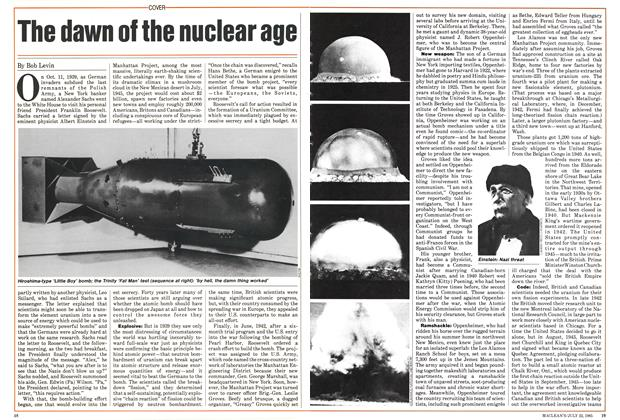 Article Preview: The dawn of the nuclear age, July 1985 | Maclean's