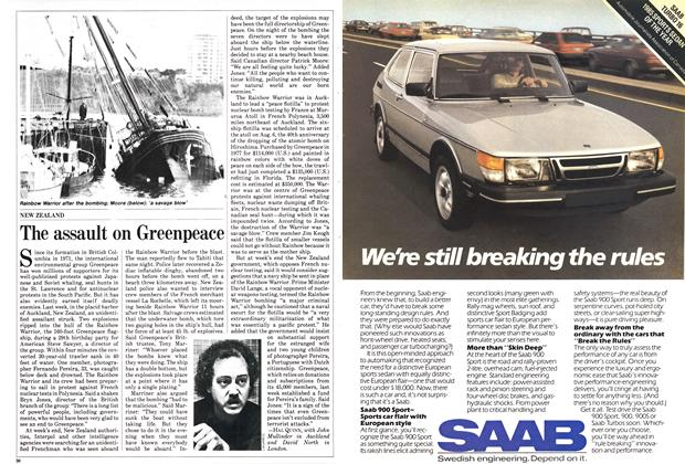 Article Preview: The assault on Greenpeace, July 1985 | Maclean's