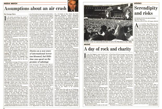 Article Preview: A day of rock and charity, July 1985 | Maclean's