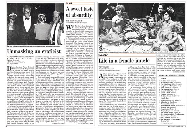 Article Preview: Life in a female jungle, July 1985 | Maclean's