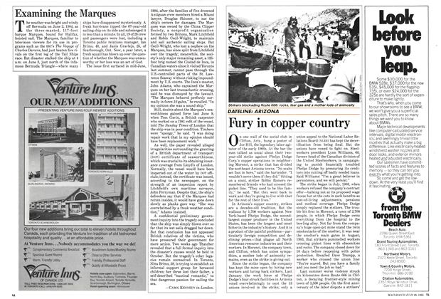 Article Preview: Examining the Marques, July 1985 | Maclean's