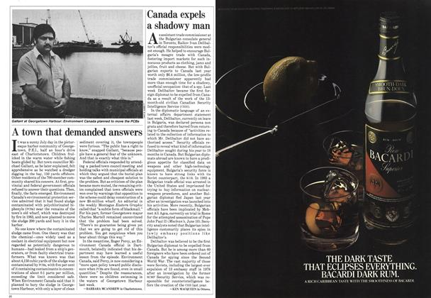 Article Preview: Canada expels a shadowy man, August 1985   Maclean's