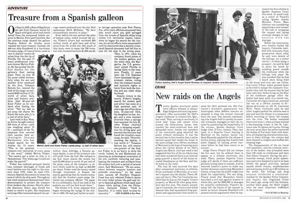 Article Preview: New raids on the Angels, August 1985 | Maclean's