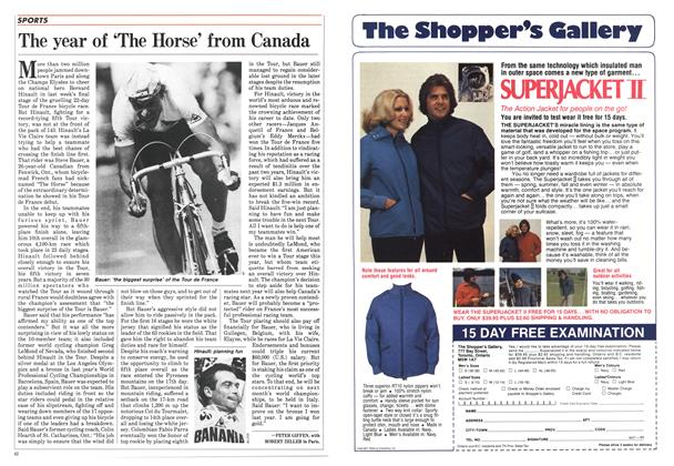 Article Preview: The year of 'The Horse' from Canada, August 1985 | Maclean's