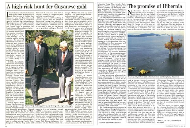 Article Preview: A high-risk hunt for Guyanese gold, August 1985 | Maclean's